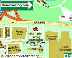 JURONG VIEW APARTMENTS | Location & Map