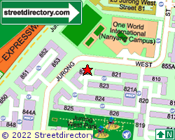 Blk 822, Jurong West Street 81 | Location & Map