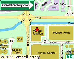 PIONEER JUNCTION | Location & Map