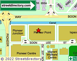 PIONEER POINT | Location & Map