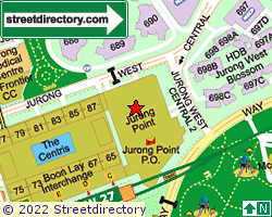 JURONG POINT | Location & Map