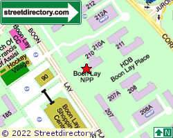 BOON LAY GARDENS | Location & Map