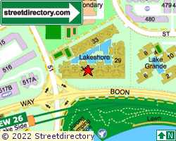 THE LAKESHORE | Location & Map