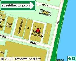 PENJURU TECH HUB | Location & Map