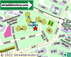 PALM GARDENS | Location & Map