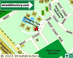 MONTEREY PARK CONDOMINIUM | Location & Map