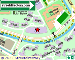 BLK 292, Bukit Batok East Avenue 6 | Location & Map