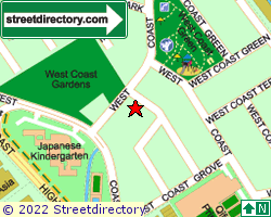 WEST COAST GARDENS | Location & Map