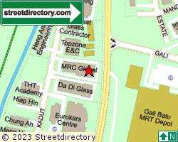SUNGEI KADUT INDUSTRIAL ESTATE | Location & Map