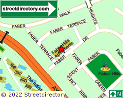 FABER HILLS APARTMENTS | Location & Map