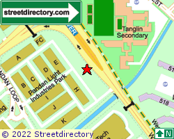 PANDAN LIGHT INDUSTRIES PARK | Location & Map