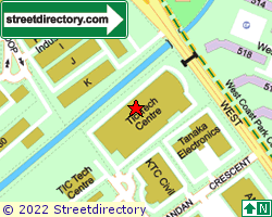 TIC TECH CENTRE | Location & Map