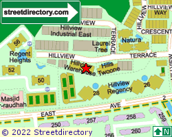 HILLVIEW WAREHOUSE | Location & Map