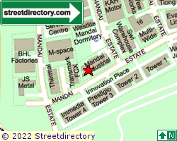MANDAI INDUSTRIAL BUILDING | Location & Map