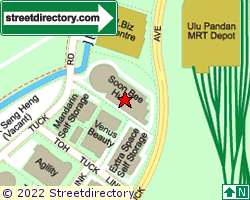 NCM INDUSTRIAL BUILDING | Location & Map