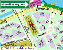 BUKIT PANJANG PLAZA | Location & Map