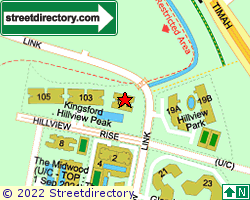 KINGSFORD . HILLVIEW PEAK | Location & Map