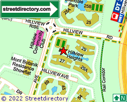 HILLVIEW HEIGHTS | Location & Map
