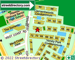 CLEMENTIWOODS CONDOMINIUM | Location & Map