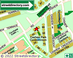 CASHEW PARK CONDOMINIUM | Location & Map