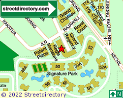 SELANTING GREEN | Location & Map
