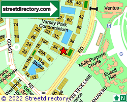 VARSITY PARK CONDOMINIUM | Location & Map