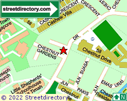CHESTNUT GARDENS | Location & Map