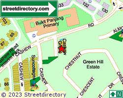 CASHEW GREEN | Location & Map