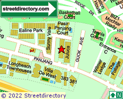 PASIR PANJANG LODGE | Location & Map