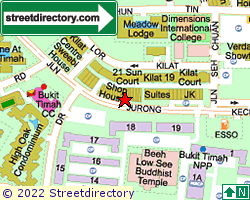 KILAT 19 | Location & Map