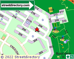 Blk 207, Petir Road | Location & Map