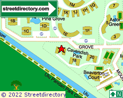 CAVENDISH PARK | Location & Map