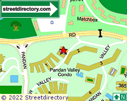PANDAN VALLEY | Location & Map
