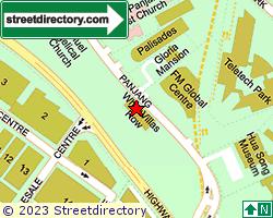 WHITEVILLAS ROW | Location & Map