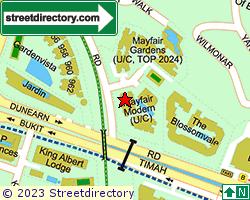 MAYFAIR MODERN   Location & Map
