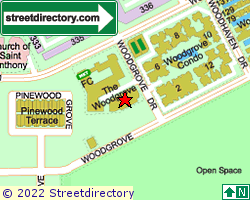 THE WOODGROVE | Location & Map