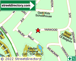 THE VILLAS OF YARWOOD | Location & Map