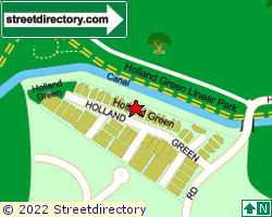 HOLLAND GREEN | Location & Map