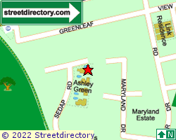 ASHLEY GREEN | Location & Map
