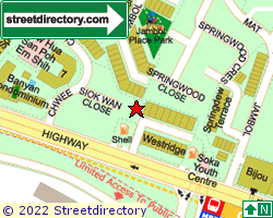 THE WESTRIDGE | Location & Map