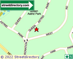 QUEEN ASTRID PARK | Location & Map