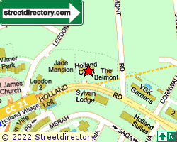HOLLAND COURT | Location & Map