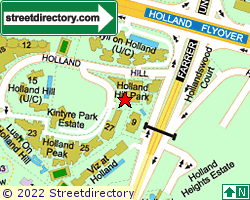 HOLLAND HILL PARK | Location & Map