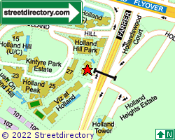 HOLLAND HILL | Location & Map