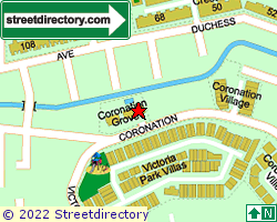 CORONATION GROVE | Location & Map
