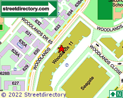 WOODLANDS 11 | Location & Map
