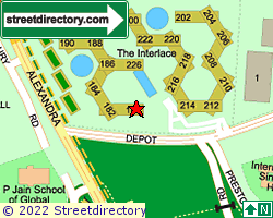 THE INTERLACE | Location & Map