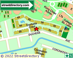 DUCHESS CREST | Location & Map