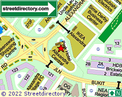 ALEXANDRA CENTRAL | Location & Map