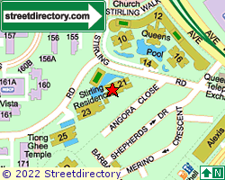 STIRLING RESIDENCES | Location & Map